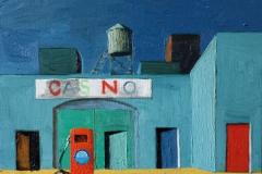 Markus Lange, Casino, Öl auf Leinwand, 30 x 40 cm, 2016