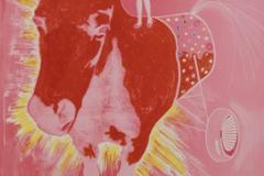 Patrick Fauck, Vollbluttrojaner, Lichtdruck, 66 x 48 cm