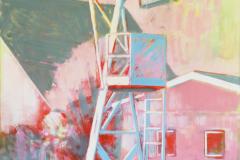 Anton Schön, Iconic, 190 x125 cm, Öl auf Leinwand, 2019