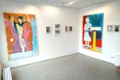 Anton Schön, Ausstellungseinsicht, 2019