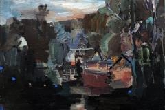 Lutz Bleidorn, Nacht mit Glühwürmchen