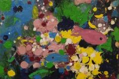 Kleine Fische im Korallenriff