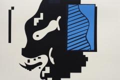 Tim Romanowsky, Interface 1, Hochdruck, 40x50, Zyklob