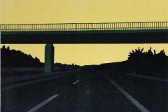 Franziska Neubert, Autobahnbrücke