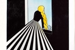 Franziska Neubert Rapunzel – Blick aus dem Fenster/ Wartend