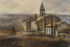 Verlassene Kirche am Po