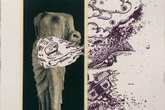Philipp Orlowski, Aphrodite,  Mischtechnik, 36 x 26 cm  250 Euro | Nummer 05