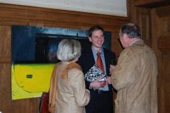 Firmengründer Thomas Werner im Gespäch mit Gästen