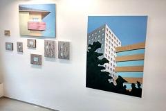 Hendrik Voerkel, Ausstellungsansicht