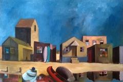 Markus Lange, Prime Time, Öl auf Leinwand, 120 x 80 cm