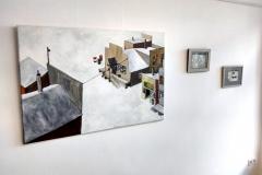 Markus Lange, Ausstellungseinsicht (1)