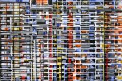 Philipp Gloger, Fassade, Acryl auf LW, 60x90 cm, 2017