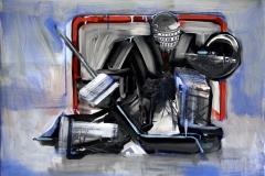 Philipp Gloger, Torhüter, Öl und Acryl auf LW , 60x80 cm