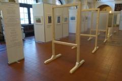 Urte von Maltzahn-Lietz, Räumliche Sichtachse, Installation mit verschiedenen Durchblicken, 2017 Instalation _charter-projektgalerie