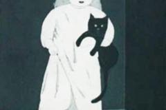 Franziska Neubert, Kind und Katze