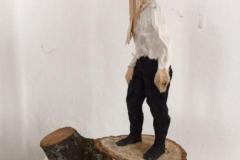 Edvardas Racevicius o.T. (6) 2017, Linde, Farbe, 8.35/21/11 cm