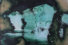 Tillmann Walther,Haus am Kanal, Mixed Media