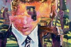 Toni Minge, Business Romance, mixed media, 60x50 cm, 2021