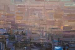 Toni Minge, deerfield_01, Öl auf Leinwand, 40 x 60 cm, 2020