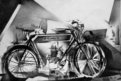 Heinrich Mauersberger, Altes Motorrad