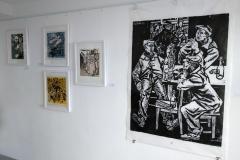 Ausstellungsansicht Werner Schinko