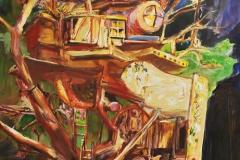Gabriel Machemer, Alte Gaststube im Wald